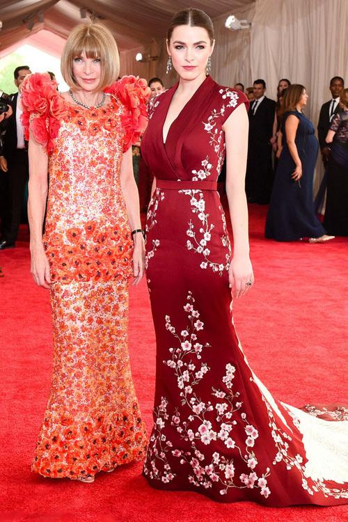 中国主题华人巨星 你不能不关注的2015 Met Ball现场