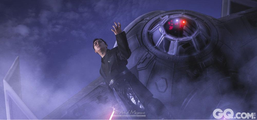 cosplay成星球大战中的角色,手持光剑,酷炫到爆!这对情侣是星高清图片