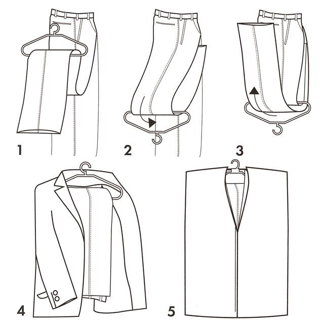 手绘西服裤子图片