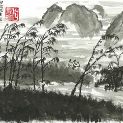 当中国水墨画遇上日本动漫