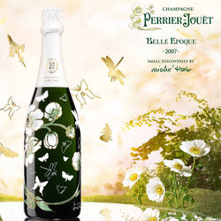 巴黎之花发布美丽时光2007年份限量版香槟