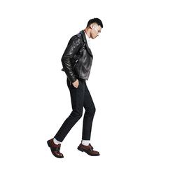 骑士皮夹克   Saint Laurent的经典