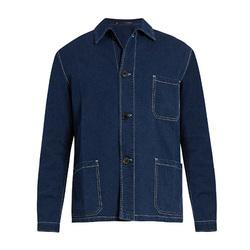 几何图形的衬衫型夹克