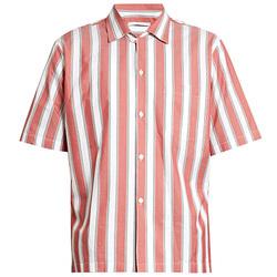 摩登的复古条纹衬衫