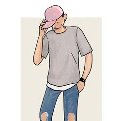 每日穿搭|球帽遮阳