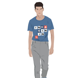 每日穿搭|不走套路的字母T恤