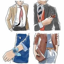 意大利男人从来不按套路穿西装 因为帅要帅得若无其事