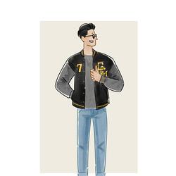 每日穿搭|超级英雄的亲民符号——棒球衫