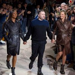 设计师Kim Jones昨天在巴黎最后的一场Louis Vuitton秀,而且新系列依然很好看 | WTFashion