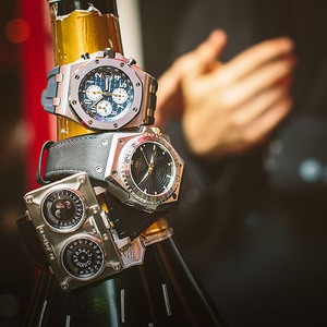 腕表与酒 男人的夜晚秀表法则
