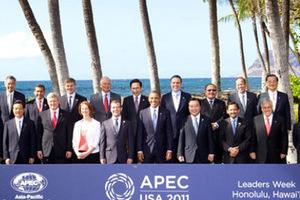 历届APEC会议上元首们都穿成了个啥