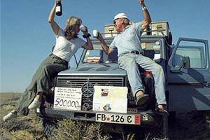 再不旅行就老了 德国老夫妻开吉普车环游世界