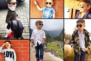 歐美時尚圈 五歲小男模爆紅