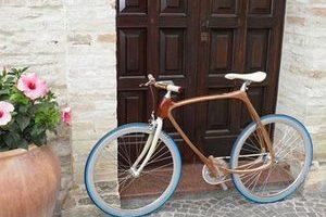 木材与碳纤维的完美融合 Carbon Wood Bikes问世