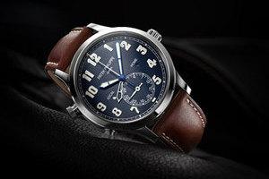 百达翡丽 Calatrava 飞行家旅行时间腕表