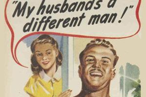 复古大妞才是男士用品最好的广告
