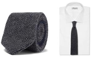 针织领带抢先入秋
