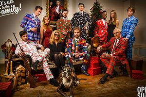 圣诞节你可以把自己认为最美(chǒu)的毛衣穿出来了