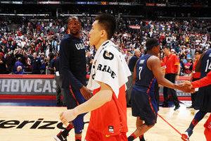 2016中国男篮里约奥运热身赛 美国男篮主场取胜