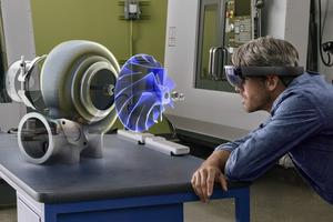 Microsoft HoloLens 最强AR眼镜即将面世