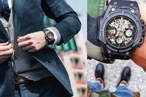 秋冬腕表搭配 小众品牌最受欢迎