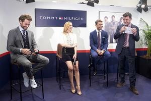 TOMMY HILFIGER全球品牌大使RAFAEL NADAL出席马德里El Corte Inglés百货公司品牌活动