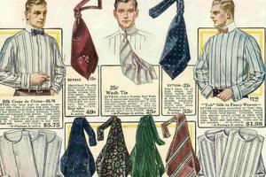 飘荡在胸前的红丝巾原来也可能不是红旗一角而是领带