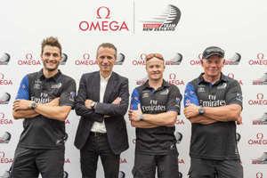 欧米茄盛大发布全新腕表  助力新西兰酋长队征战第35届美洲杯帆船赛