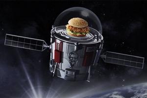 有家做气球的公司说了,以后在太空中也能吃到肯德基了