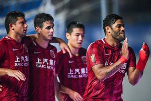 2017中超联赛第13轮:广州富力1-1上海上港