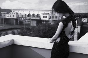 阳台上的优雅