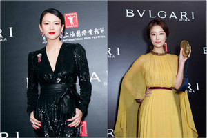星光云集BVLGARI宝格丽盛典 上海电影节意大利电影周开幕