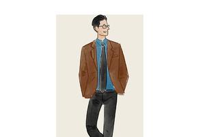 每日穿搭|厉害的报社记者都穿格纹衬衫?比如超人
