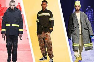 消防夹克才是当下最火的男装30salon