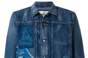 传统工艺与极简摩登结合的新潮牛仔夹克