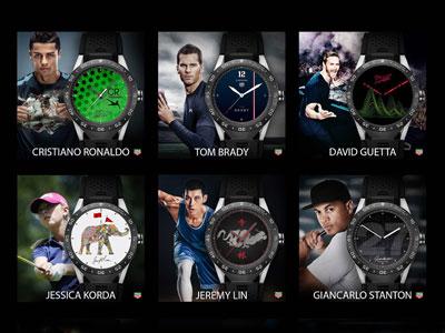 泰格豪雅发布品牌大使特别设计款