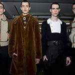 2015秋冬伦敦时装周:J.W. Anderson秀场后台
