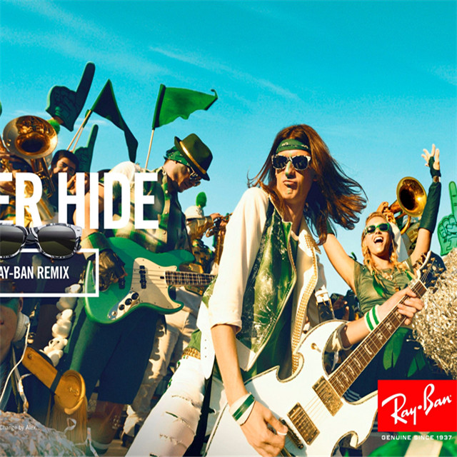 RAY-BAN 推出全新宣传活动 NEVER HIDE – #CAMPAIGN4CHANGE