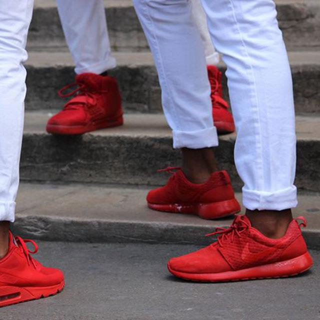 爷们的小红鞋