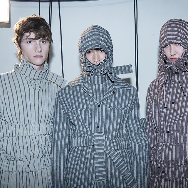 2016伦敦秋冬男装周Craig Green秀场后台