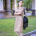 王丽坤着Bally 2016女士度假系列包袋展现街头魅力