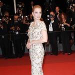 Jessica CHASTAIN等明星身着CHANEL出席第70届戛纳电影节