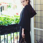 Dior迪奥中国区品牌大使Angelababy身穿Dior迪奥2017秋冬成衣系列演绎时尚街拍
