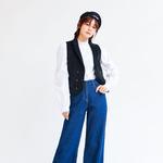 """袁姗姗变身""""美女编辑"""",教你玩转时尚混搭范"""
