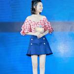 李沁身着PINKO 2018春夏系列亮相《余庆年...