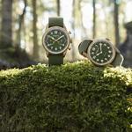 万宝龙全新1858系列腕表:卡其绿色回归自然