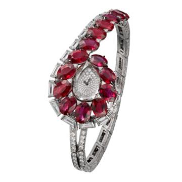 卡地亚推出TRAIT D'ÉCLAT高级珠宝腕表