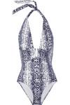Tanzania 蛇纹挂脖泳衣