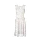 Escada艾斯卡达2014早春系列白色印花连衣裙