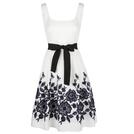 Carolina Herrera 白色刺绣礼服裙